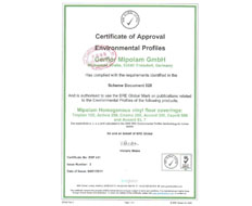 德国环境认证证书