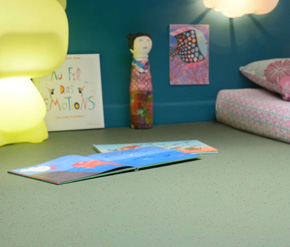 Premium特优舒适  印第安那 洁福塑胶地板 PVC地板